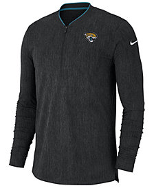 Nike Men's Jacksonville Jaguars Coaches Quarter-Zip Pullover