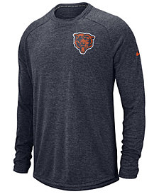 Nike Men's Chicago Bears Stadium Long Sleeve T-Shirt