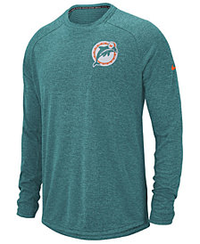 Nike Men's Miami Dolphins Stadium Long Sleeve T-Shirt