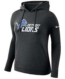 Nike Women's Detroit Lions Club Pullover Hoodie