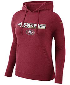 Nike Women's San Francisco 49ers Club Pullover Hoodie