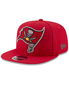 New Era Tampa Bay Buccaneers Meshed Mix 9FIFTY Snapback Cap