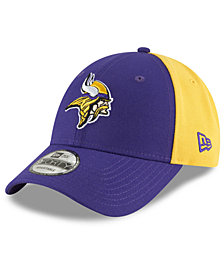 New Era Minnesota Vikings Team Blocked 9FORTY Cap