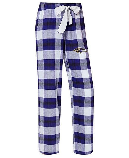 3bd0f451 Women's Baltimore Ravens Headway Flannel Pajama Pants