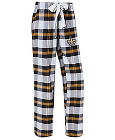 Concepts Sport Women's New Orleans Saints Headway Flannel Pajama Pants