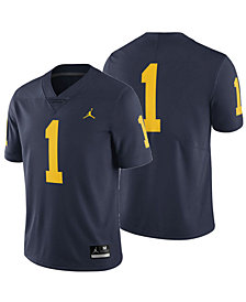 Jordan Michigan Wolverines Replica Game Jersey, Big Boys (8-20)