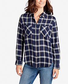 WILLIAM RAST Juniors' Aidan Plaid Shirt