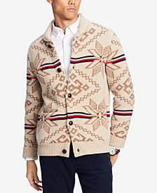 Tommy Hilfiger Men's State Shawl-Collar Cardigan, Created for Macy's