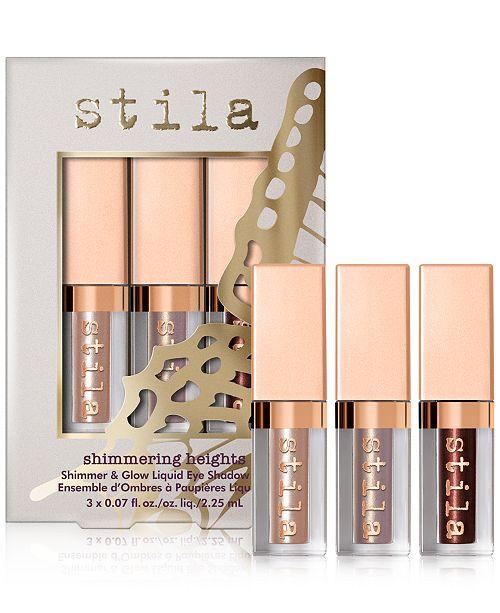 Stila 3-Pc. Shimmering Heights Liquid Eye Shadow Set
