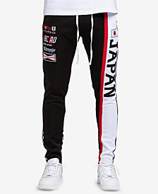 Hudson NYC Men's Japan Graphic Track Pants