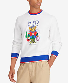 Polo Ralph Lauren Men's Big & Tall Polo Bear Graphic Sweatshirt