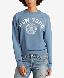 Polo Ralph Lauren Printed Fleece Pullover