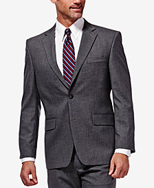 J.M. Haggar Men's Classic/Regular Fit Stretch Sharkskin Suit Jacket