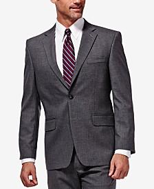 J.M. Haggar Sharkskin Classic-Fit Suit Jacket