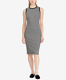 Ralph Lauren Petite Houndstooth Dress