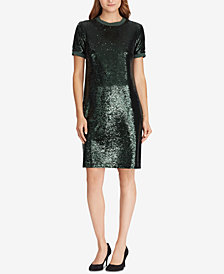 Lauren Ralph Lauren Sequin T-Shirt Dress