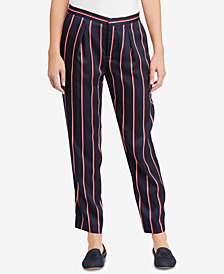 Lauren Ralph Lauren Twill Straight-Leg Pants