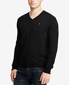 Polo Ralph Lauren Men's Merino Wool V-Neck Sweater