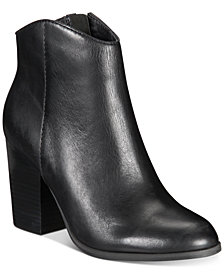 Lucca Lane Kana Block-Heel Booties