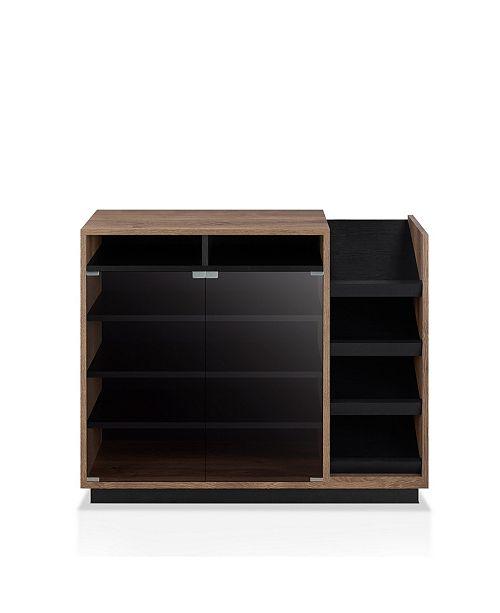 Furniture Of America Nostrom Modern Shoe Cabinet