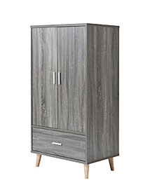 Modern Massenburg Wardrobe Armoire