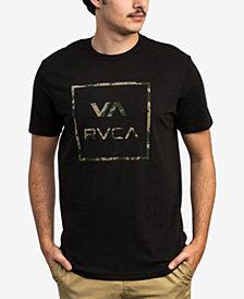 RVCA Men's Dark Camo Logo T-Shirt