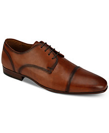 Kenneth Cole Reaction Men's Brave Burnished Cap-Toe Oxfords