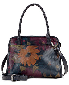 Patricia Nash Paris Smooth Leather Satchel