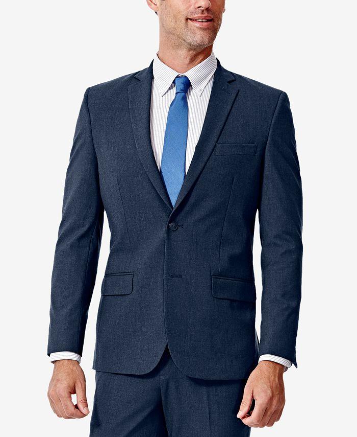 Haggar - Men's 4-Way Stretch Slim-Fit Suit Jacket