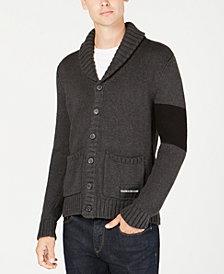 Calvin Klein Jeans Men's Varsity Stripe Cardigan