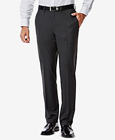 J.M. Men's 4-Way Stretch Slim-Fit Suit Pants
