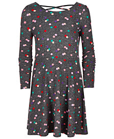 Epic Threads Big Girls Dot-Print Dress, Created for Macy's