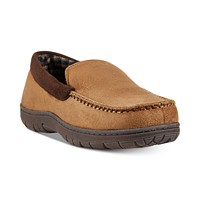 Deals on 32 Degrees Mens Venetian Faux-Suede Slippers