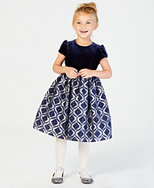 Jayne Copeland Velvet Organza Gown, Little Girls