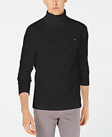 Calvin Klein Jeans Men's Logo Turtleneck