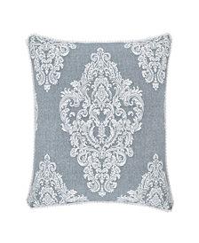 "Piper & Wright Ansonia Blue 20"" Square Pillow"