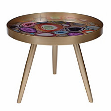 Colorfully Exuberant Livonia Side Table