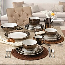 Gourmet Basics Leyna Dinnerware Collection
