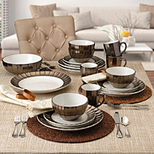 Mikasa Gourmet Basics Leyna Dinnerware Collection