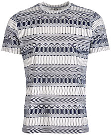 American Rag Men's Fair Isle T-Shirt, Created for Macy's