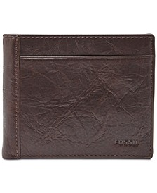 Men's Neel Leather Coin-Pocket Wallet