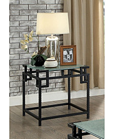 Yvonne End Table, Quick Ship