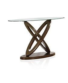 Darbunic Glass Top Sofa Table