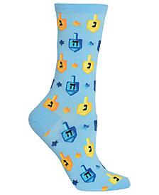 Hot Sox Hanukkah Dreidels Socks