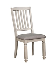 Sonora Antique White Side Chair (Set of 2)