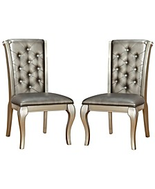 Sante Champagne Side Chair (Set of 2)
