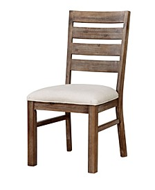 Carmella Natural Tone Side Chair (Set of 2)