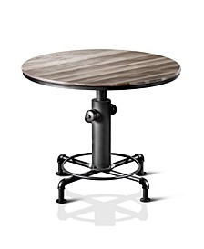 Zina Antique Black Dining Table