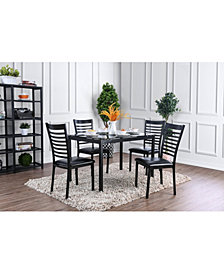Torrance 5pc Dining Set, Quick Ship
