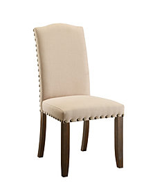 Weth Upholstered Dining Chair (Set of 2)